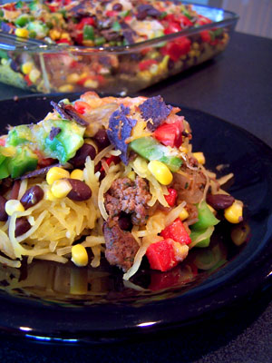 7 Layer Mexican Casserole Idea