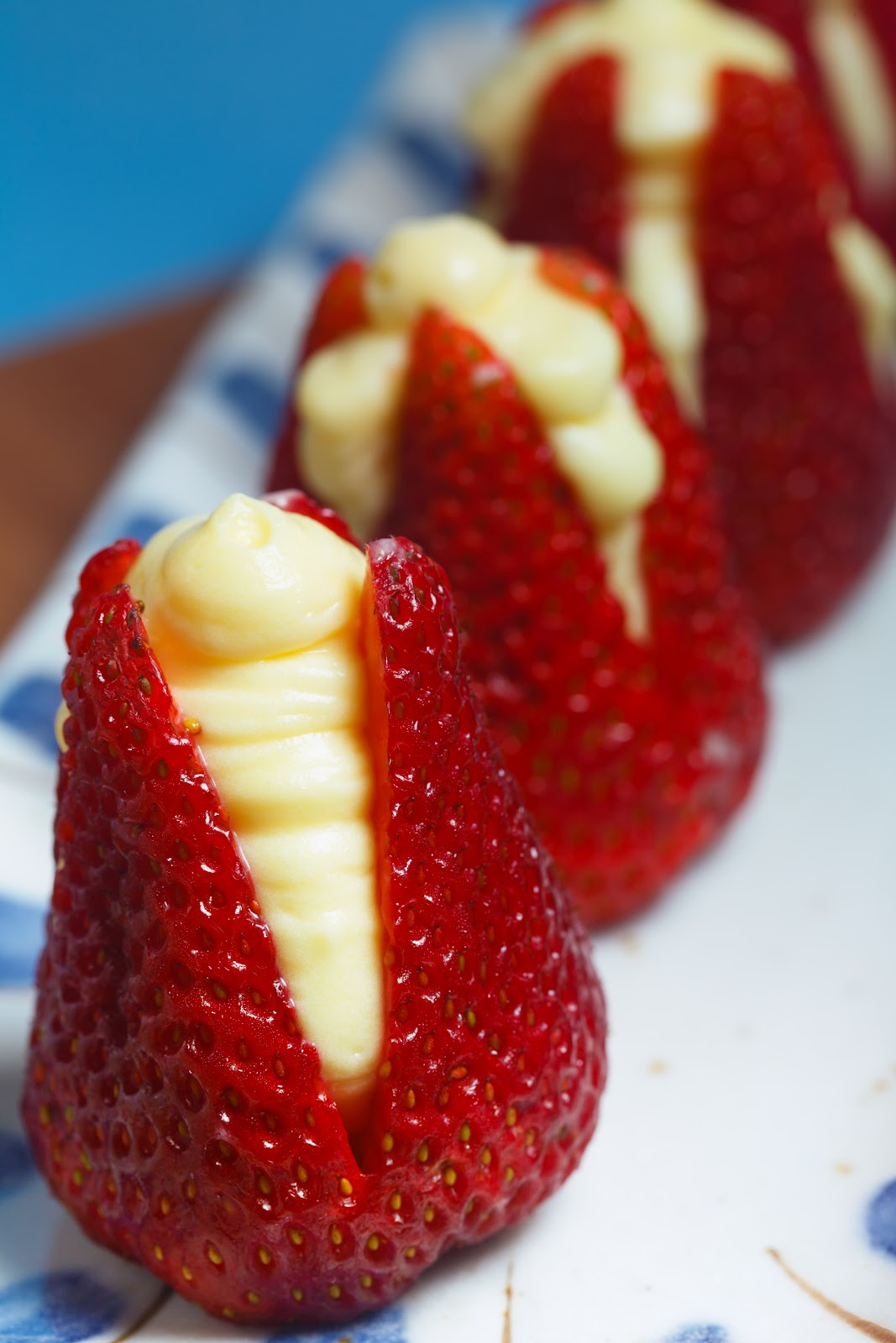 Strawberries Filled with Almond Cream | Quick & Easy Recipes