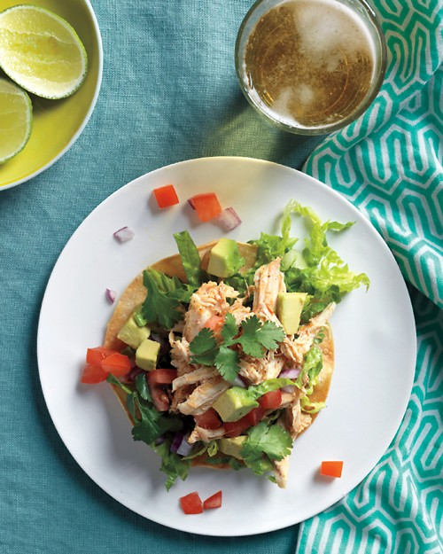Chicken-Tostada-Salad