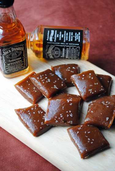 Salted-Whiskey-Caramels