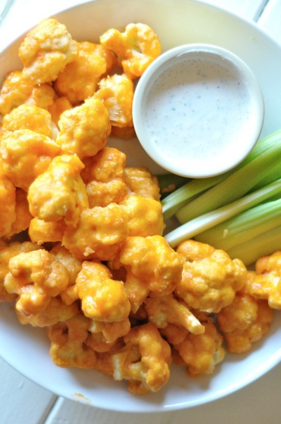 Spicy-Buffalo-Cauliflower