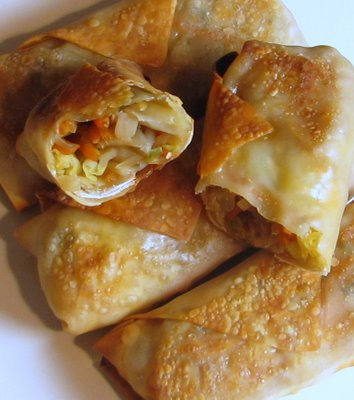 Baked-Vegetable-Egg-Rolls