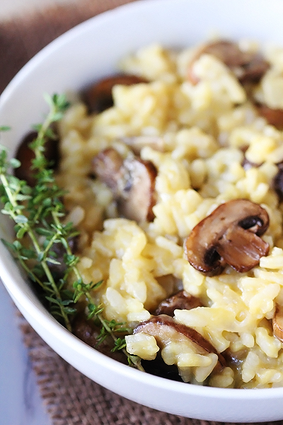Mushroom Risotto | Quick & Easy Recipes