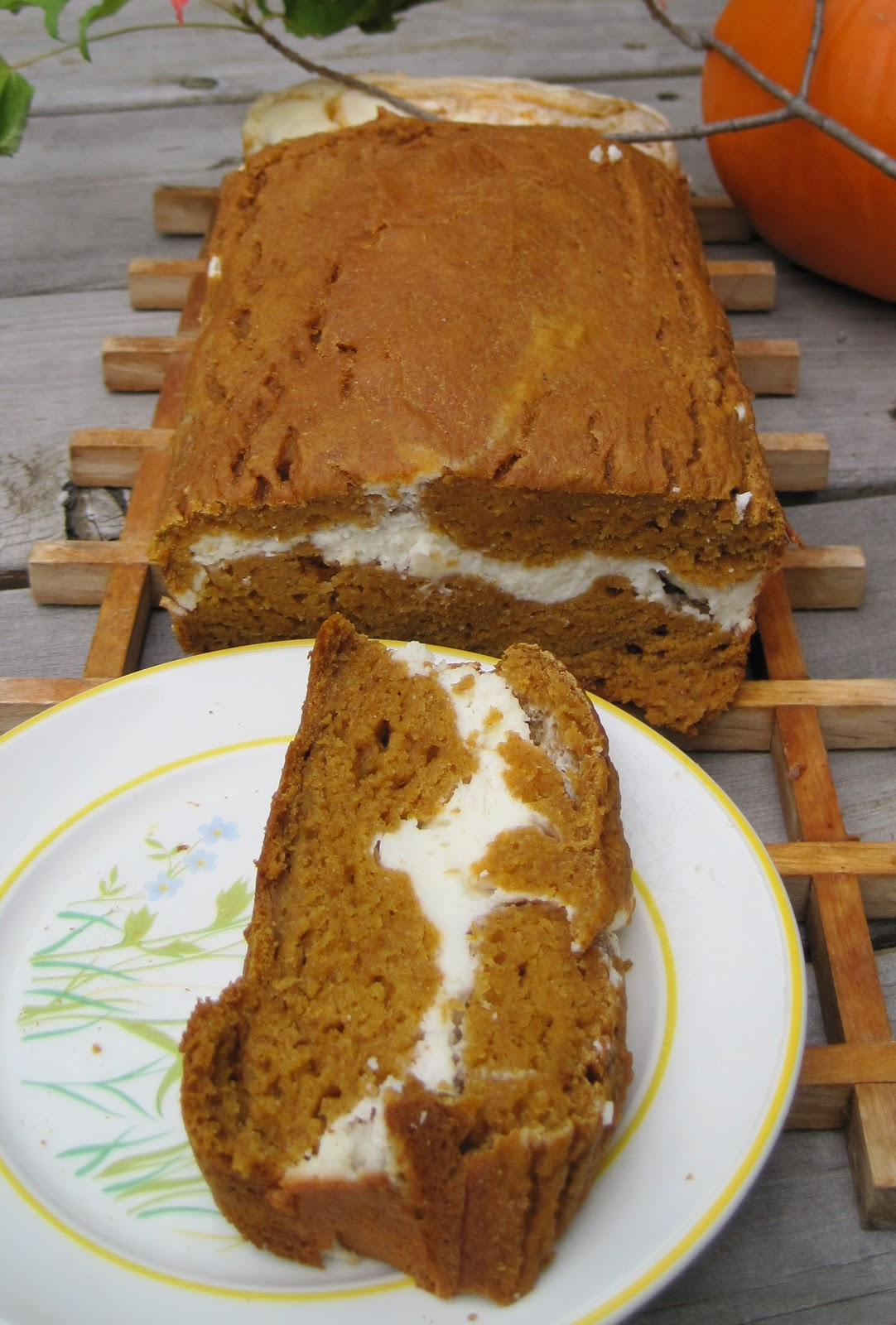 Pumpkin-Cream-Bread