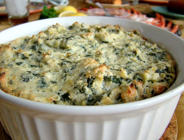 ) boxes frozen chopped spinach, thawed 1 (14 ounce) cans artichoke ...