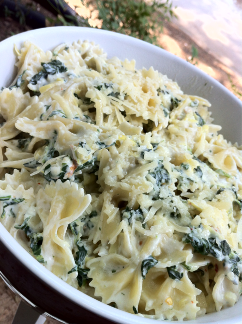 Healthy pasta and spinach recipes
