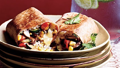 Vegetable-and-Rice-Burritos
