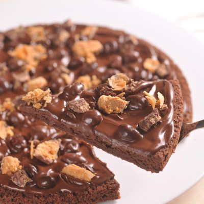 Brownie-Pizza