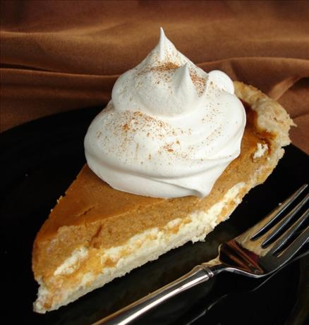 Pumpkin-Cream-Cheese-Layer-Pie-Recipe