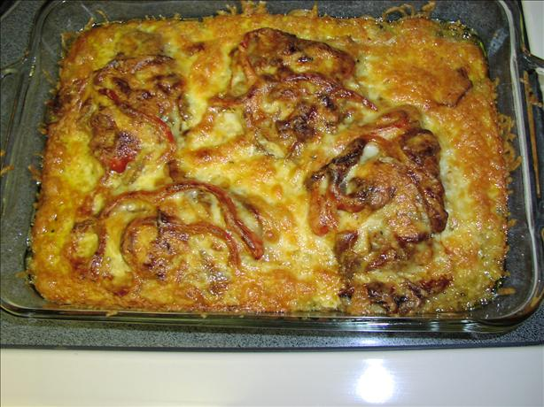 Cheesy-Chops-and-Peppers-Casserole