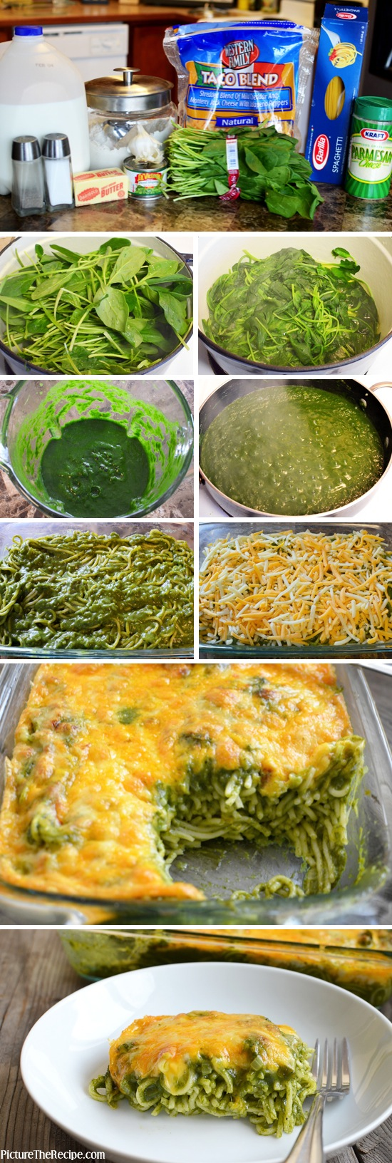 Cheesy-Spinach-Pasta-Bake