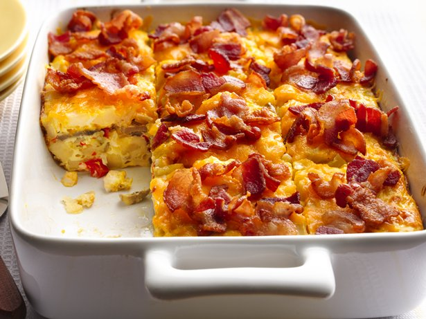 Bacon-and-Hash-Brown-Egg-Bake