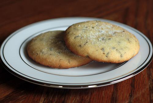 Lavender-Cookies