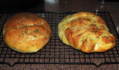 Grill-Rosemary-Bread