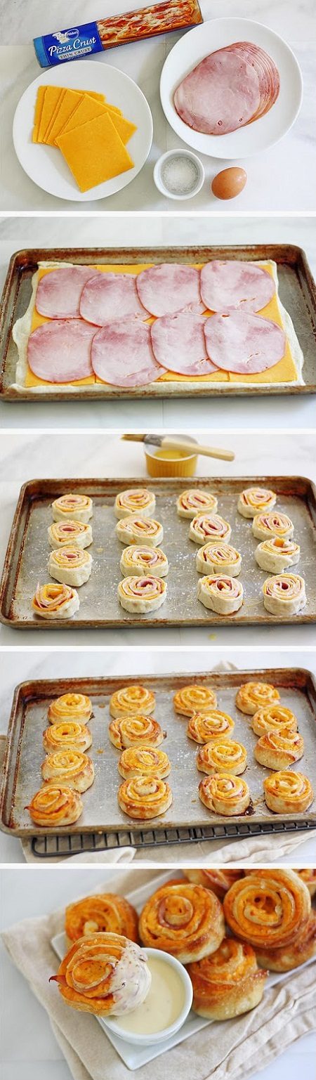 Ham-and-Cheese-Pretzel-Bites