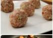 Apple Meatballs in Wine Sauce Recipe