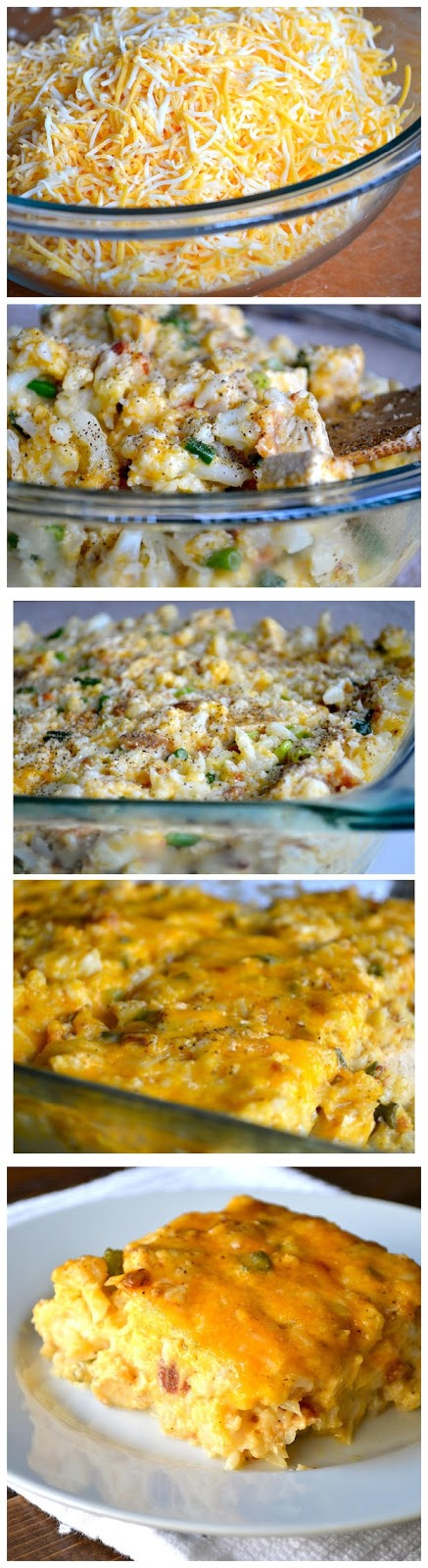 Loaded Cauliflower & Chicken-Casserole-Recipe