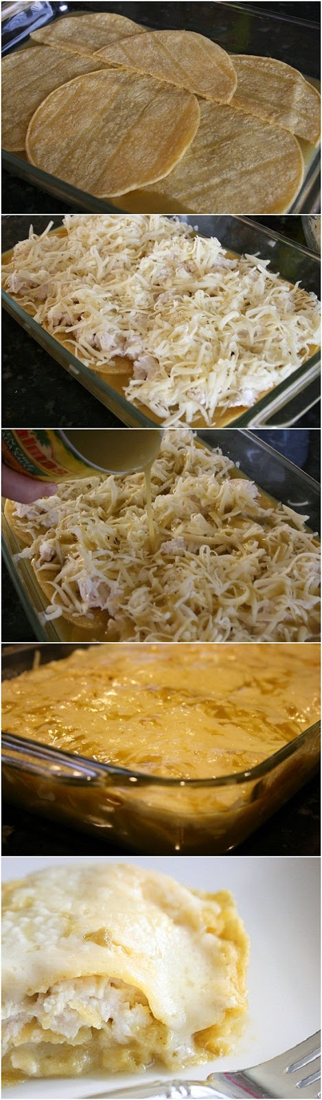 Quick-and-Easy-Green-Chile-Chicken-Enchilada-Casserole-Recipe