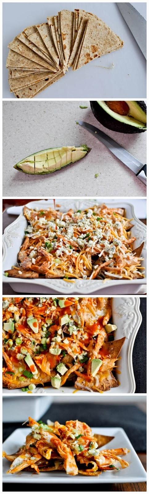 Baked-Layered-Buffalo-Chicken-Nachos-Recipe
