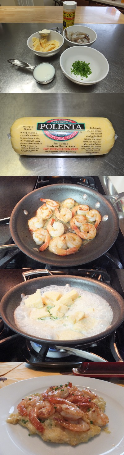 Pan Seared Shrimp with Polenta Recipe | Quick & Easy Recipes