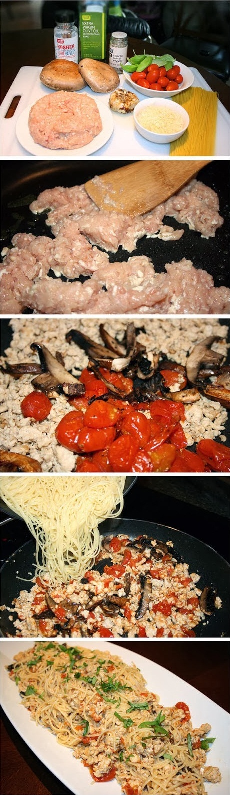 Pasta-Toss-with-Chicken-and-Roasted-Tomatoes-Recipe