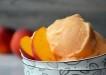 5 Minutes Healthy Peach Frozen Yogurt Recipe
