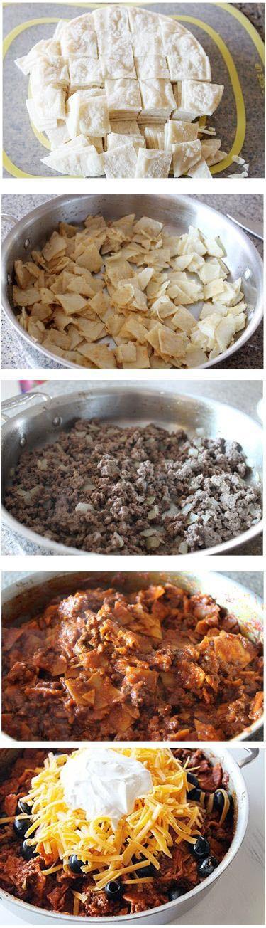 Beef-Skillet-Enchiladas-Recipe