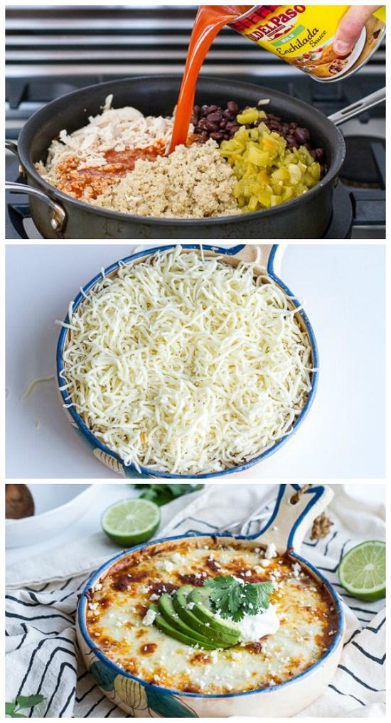 Chicken-Enchilada-Quinoa-Bake-Recipe