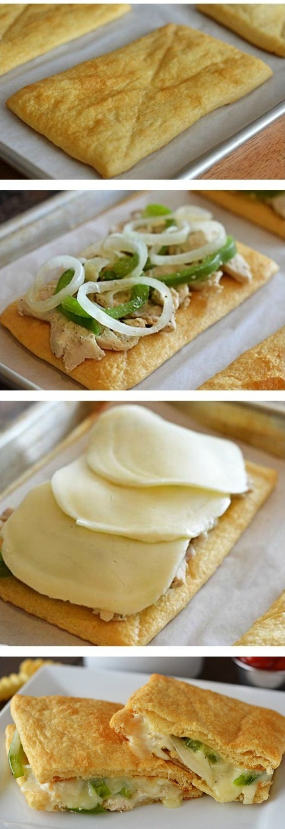 Crescent-Chicken-Cheesesteaks -Recipe