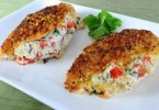 Italian Panko Crusted Stuffed Chicken Recipe