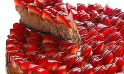 STRAWBERRY NUTELLA CHEESECAKE RECIPE